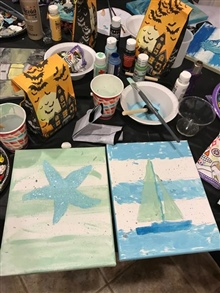 "MYC Auxiliary ""Sip and Paint Night"" October 13, 2017"